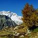Oberhalb des Göscheneralpsees zeigt sich der Winterberg...