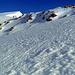 Die feste Schneedecke erleichterte den Aufstieg.