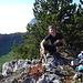 Auf dem Gipfel des Rüttelhorn 1193m haben wir grilliert