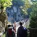 Die Marienbrücke über die Pöllatschlucht - eine Touristenattraktion.