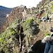 Abstieg vom Pas de Bellecombe zum Kraterboden