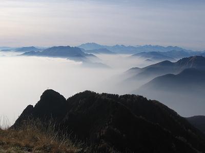 Panorama dalla Cima di Sassello.