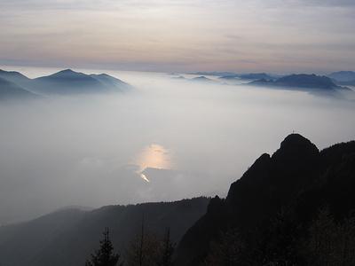 Il Lago Maggiore dalla Cima di Sassello.