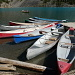 Canoe al Moraine Lake