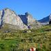 Die Markierungen weisen die Richtung – Girenspitz: einer der letzten verbliebenen Alpstein-Gipfel