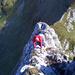 Tiefblicke – [U Alpin_Rise] im ersten Aufschwung zum Gätterifirst