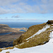 Blick nach Westen, Richtung Snæfellshalbinsel.