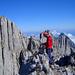 """Gipfelbucheintrag auf K VIII – """"Hoch der Berg, tief das Tal, …"""""""