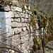 Nur noch eine Mauer von der Burg Lägern