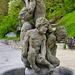 Brunnen an der Bäderpromenade in Baden