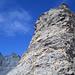 Kletterei aus der Scharte im Angesicht des Ringels