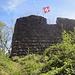 Die Burgruine Stralegg