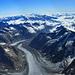 Teilpanorama Gipfel Finsteraarhorn… (ich bringe das Panorama einfach nicht hin…)