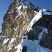 Hugisattel mit Blick Richtung Gipfelgrat