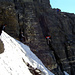 Die erste Klettereinlage.
