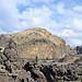 Blick zum Berg Heimaklettur (283m), dem höchsten Berg der Insel Heimay