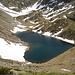 per la sua bellezza si potrebbe anche dire che: per questo lago ci lasci il cuore, visto dalla bocchetta a Q.2269