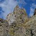 Gipfelaufbau der Forca di Casséo
