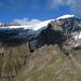 Im Vordergrund Cima di Laghetto und Uomo di Sasso, dahinter Grauhorn und Rheinwaldhorn