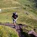 Sascha über der Alp Panüöl