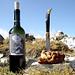 Alla Forcola di Strem, proprio al confine fra Grigioni e Lombardia, un ora lieta trascorremmo, gustando ottimo vino rosso e prelibata bisciola, entrambi rigorosamente valtellinesi...