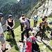 Vorbereitungen zum Klettern