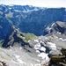Tiefblick auf Claridenhütte