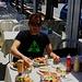 Ein feines Zyprisches Mittagessen in Τρόοδος (Tróodos).