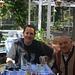 Πάνω Πλάτρες (Páno Plátres): Im Garten vom Forest Park Hotel zusammen mit dem Hotelbesitzer der interssante Geschichten von vergangenen Zeiten erzählen kann.
