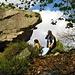 eigentlich wollte [u dominik] ein foto von dem beim bouldern machen.... nicht beim fallen....