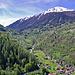 Blick hinein ins Val de Nendaz