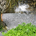 Das Wasser der Bisse wird in einen Bach abgeschlagen. Ab hier ist sie zur Zeit trocken.
