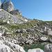 Der kleine Seleni vir See und gleichzeitig letzte Quelle vor dem Aufstieg zum Bobotov