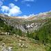 Val d' Osura und hinten in der Mitte der Monte Zucchero