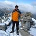 summit shot Monte Zucchero 2735m