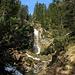 Kleiner Wasserfall am Schützensteig