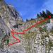 Gemsweid – die Route