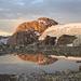Spitzalpelistock und die Eisabbrüche - gespiegelt