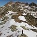 Weiterweg vom Jocherer Berg nach Norden zum Sattel