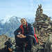 Am Rötlspitz Gipfel