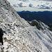 Abstieg über den Nordwestgrat
