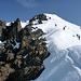 Steiler Hang zum Südgrat