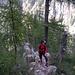 Auf dem hübsch angelegten Hüttenweg zur Capanna Sasc-Furä