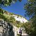 auf dem Weg zum Klettergarten von Crosano
