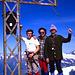 Sulla cima, con Angelo e Lorenzo