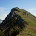 Freie Sicht über den Grat zum Gipfel