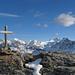 Auf dem Gipfel der Pointes de Tsavolire