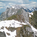 Lütispitz-Gipfelblick zum Säntis