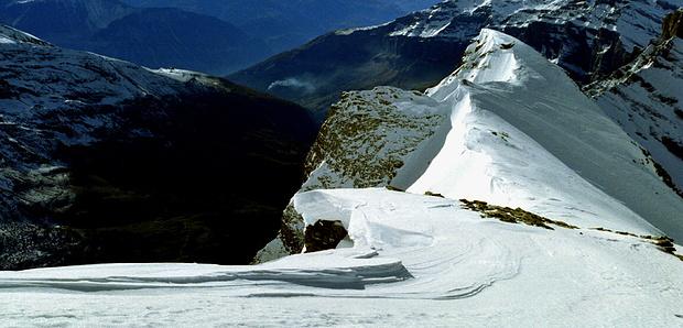 Panorama Zackengrat.