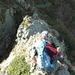 Im Abstieg vom Pizzo Ometto.